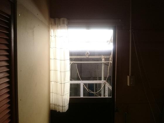 倉庫の2階 出入り口