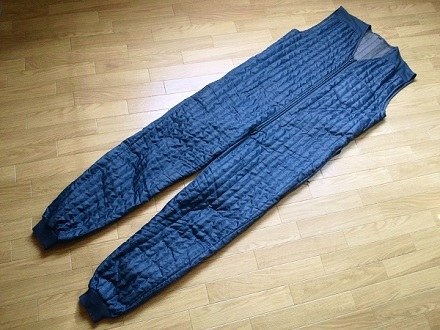 防寒インナースーツ