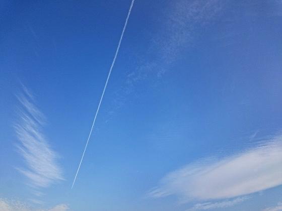 >飛行機雲