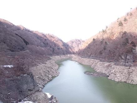 2017年12月の五十里湖