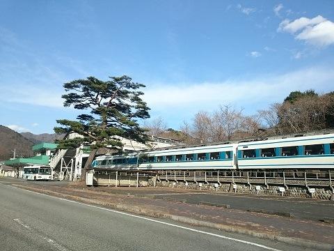 東武鬼怒川線「鬼怒川公園駅」と特急スペーシア