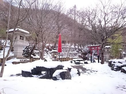 雪の庭「揚羽〜AGEHA〜(平家の庄)」