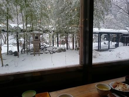 冬の朝ごはん-湯西川温泉「平家の庄」
