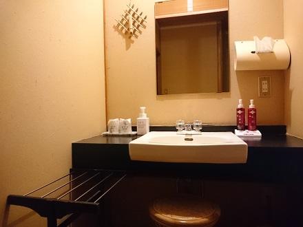 新本館の洗面台