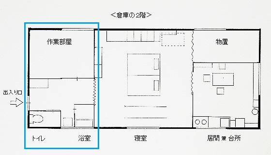 手前(倉庫の2階)