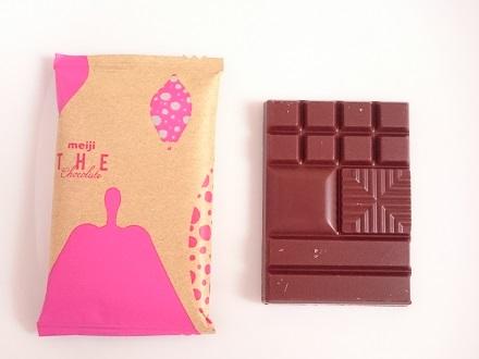 チョコレートの表面
