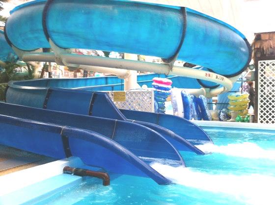 スパリゾートハワイアンズのウォータースライダー「ワンダーホルン」