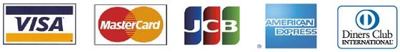 ハワイアンズで使えるクレジットカード(VISA、マスター、JCB、アメックス、ダイナース)