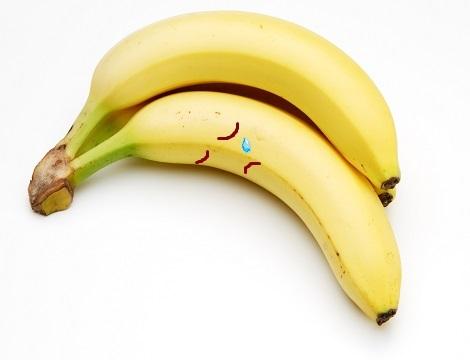 泣くバナナ