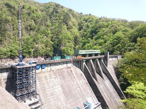 2018年4月の五十里ダム