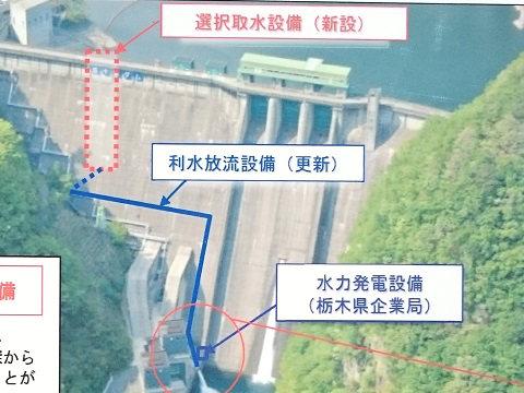 五十里ダムの工事内容