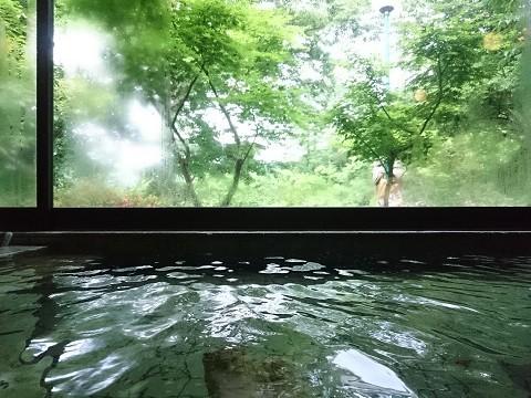 中三依温泉 男鹿の湯のお風呂