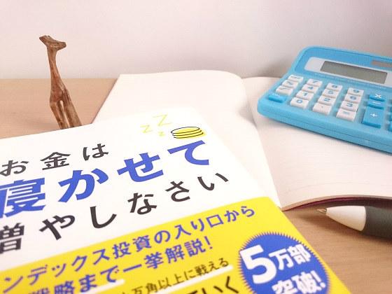 インデックス投資の案内本「お金は寝かせて増やしなさい」を読んで資産配分(アセットアロケーション)の確認