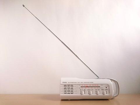 ラジオのアンテナ