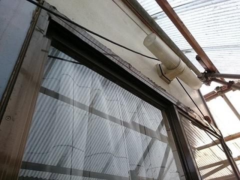 倉庫2階の入り口