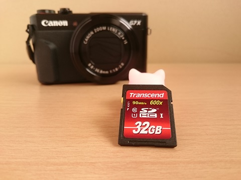 Transcend SDHCカード 32GB