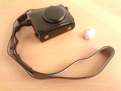 キヤノン G7X Mark2のカメラケース