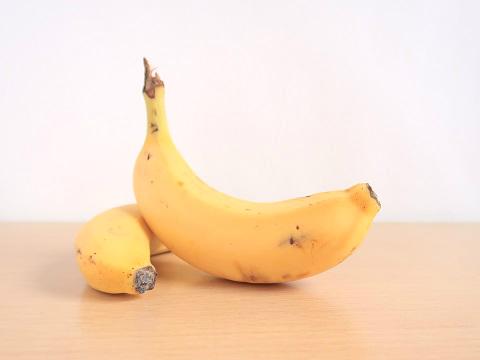 冬季うつに効果がある食べ物として紹介されるバナナ