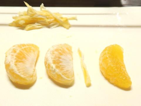 はっさくの果肉