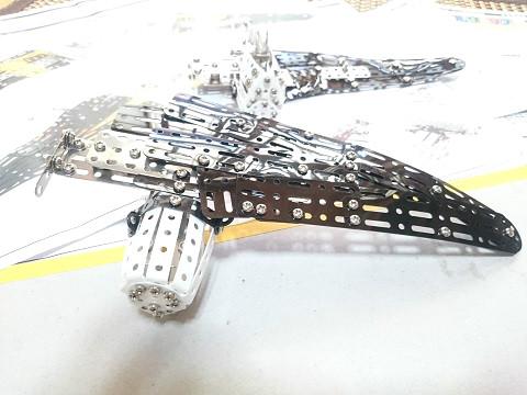 デルタックス レース飛行機 DH88 主翼を作る
