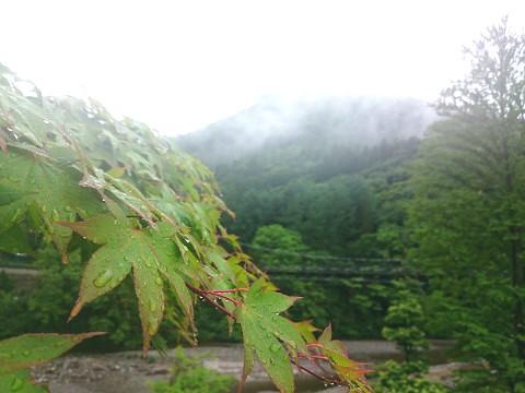 湯西川温泉 水の郷 大吊橋