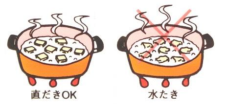調理する場合の注意点「おいしいとうふ うすぎり」
