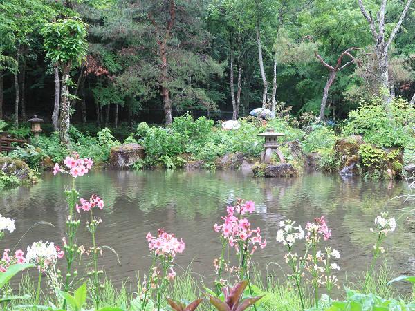 和風庭園ゾーン 上三依水生植物園