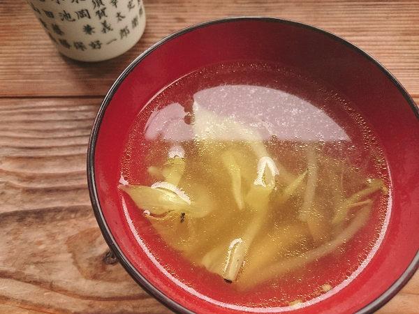 こま草のスープ 栃木県日光市上三依