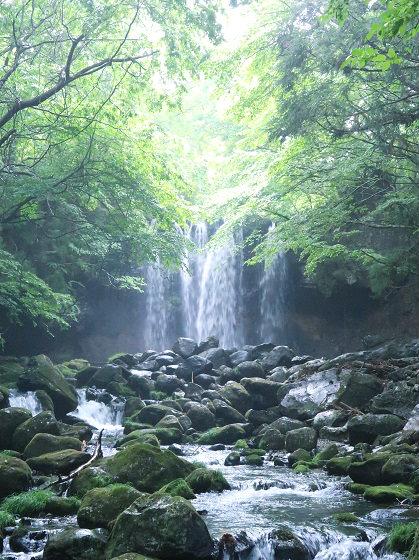 乙女の滝 栃木県那須塩原市