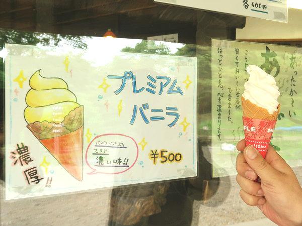 南ヶ丘牧場のソフトクリーム