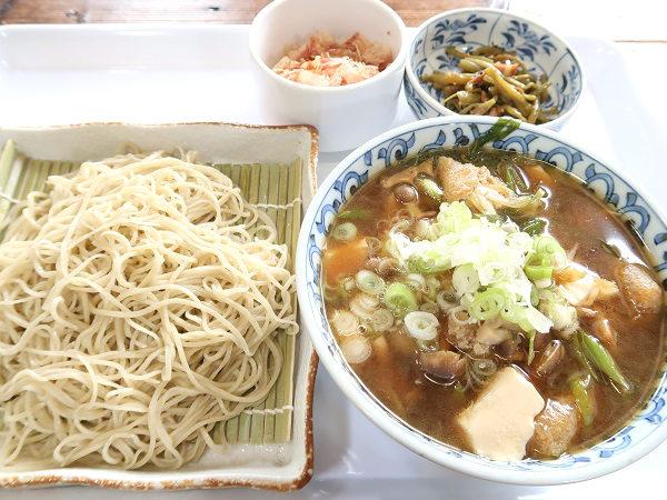 こま草のきのこそば 栃木県日光市上三依
