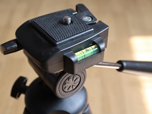 カメラ用三脚 HAKUBA W-312 水準器