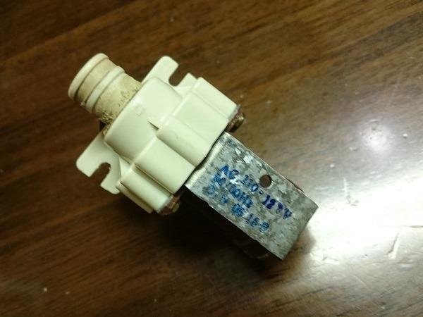 LGエレクトロニクス製全自動洗濯機WF-45P4の給水電磁弁