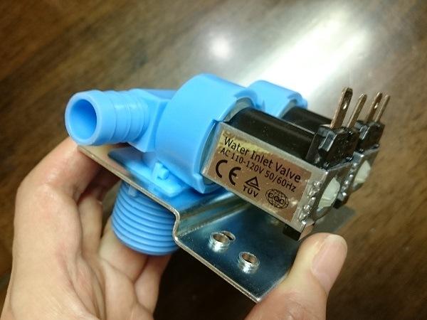 AC 110-120V の中国製電磁弁