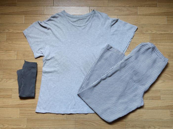 マスクの材料 パジャマ・Tシャツ・タイツ