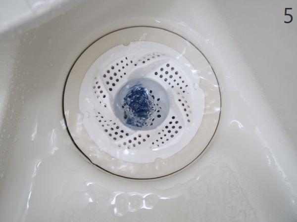 お風呂の排水口掃除がラクになるダイソー くるっとキャッチ