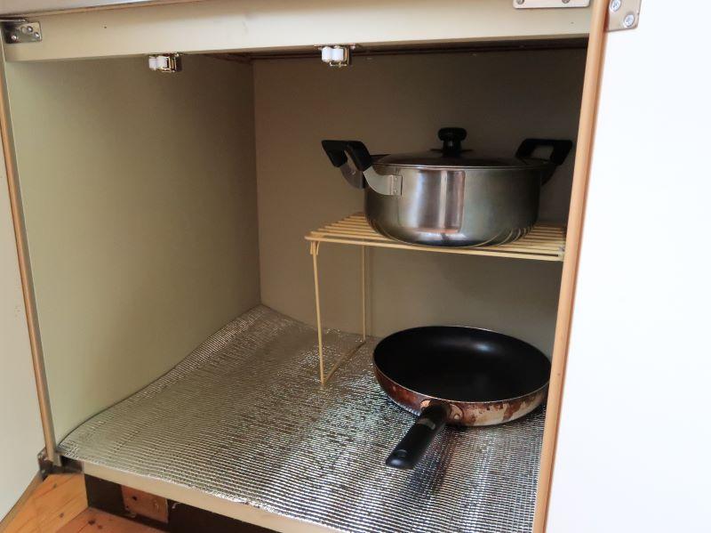 調理器具 みよりふるさと体験村男鹿の湯コテージ