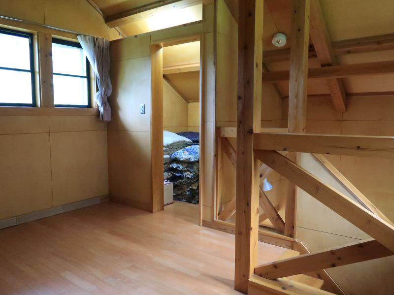 2階寝室 みよりふるさと体験村男鹿の湯コテージ