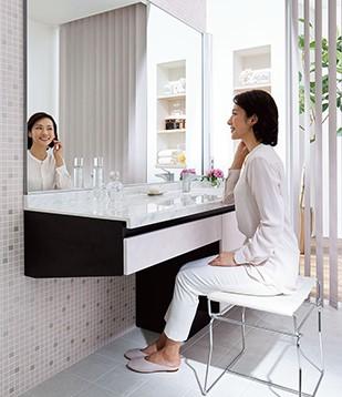 洗面化粧台 アイダ設計 楽らくご長寿さん