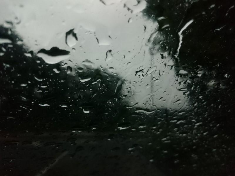 雨の助手席