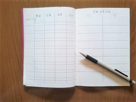 資産管理ノート