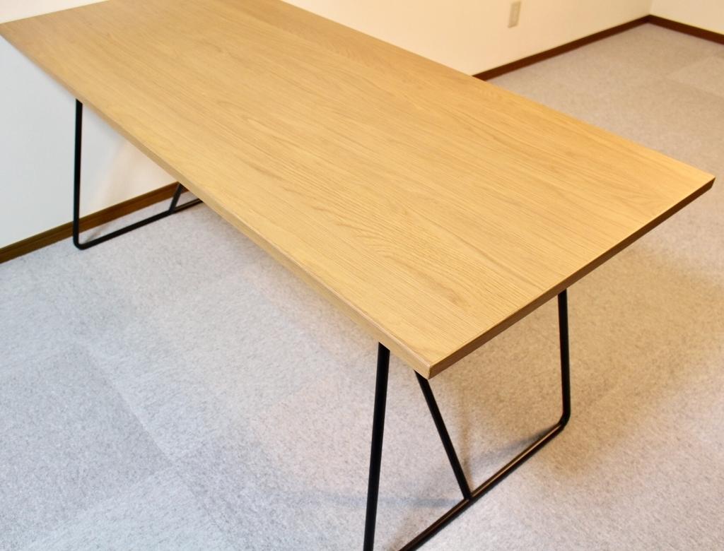 無印良品折りたたみテーブル160cm