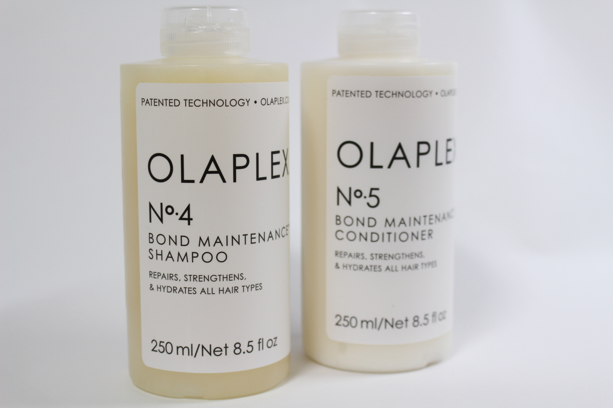 OLAPLEXオラプレックスのシャンプーとトリートメント