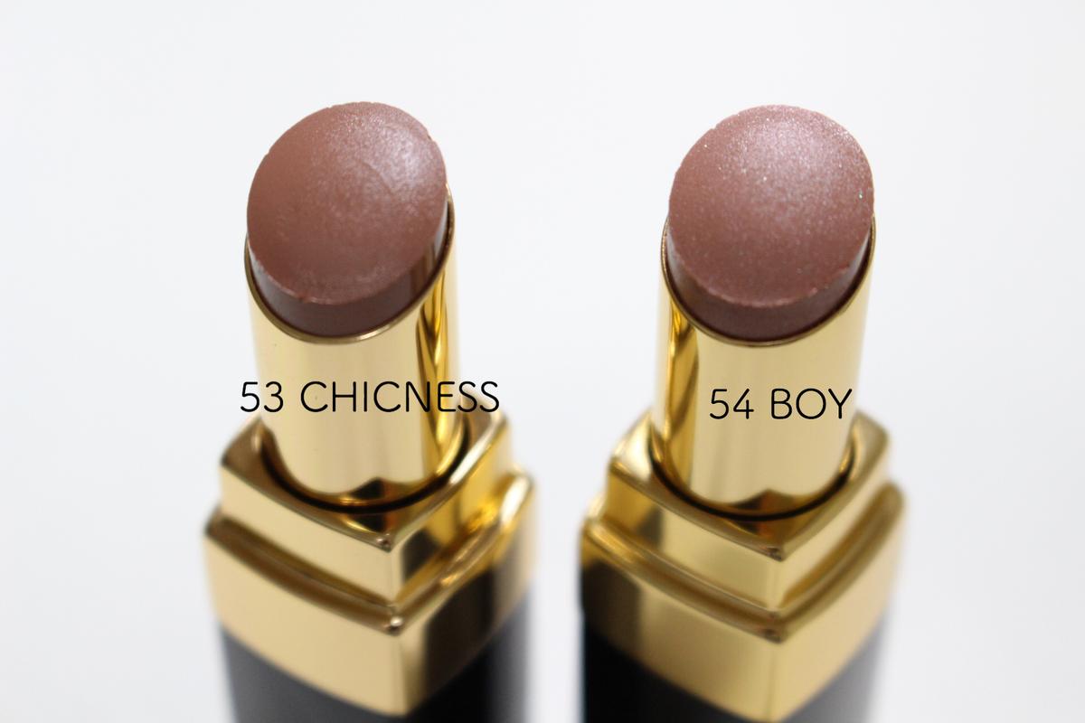 ルージュココフラッシュの53と54