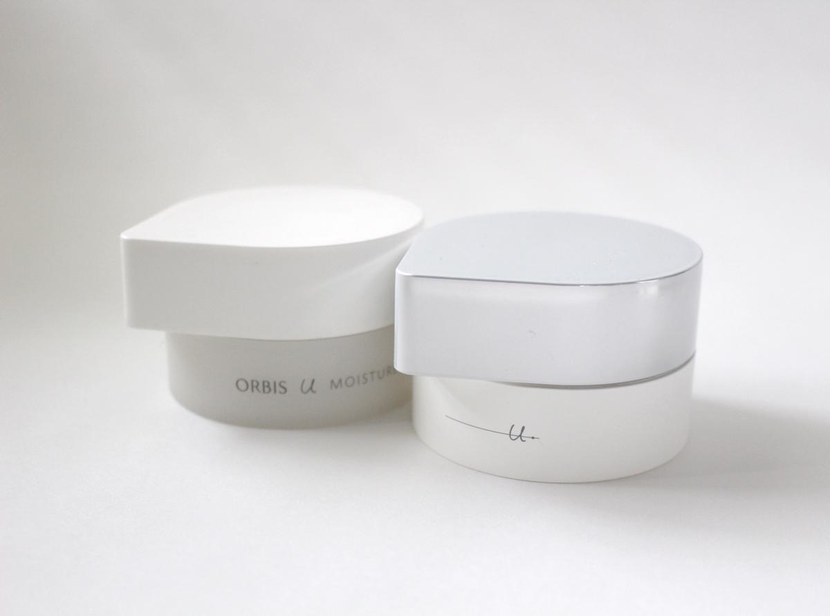 オルビスユーとユードットのモイスチャーの比較