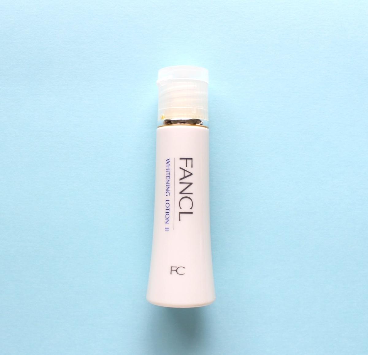ファンケルのホワイトニング化粧水