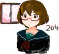2012年だから2012枚のめがねっ娘の絵を描くよ