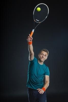 テニス、スマッシュの打ち方