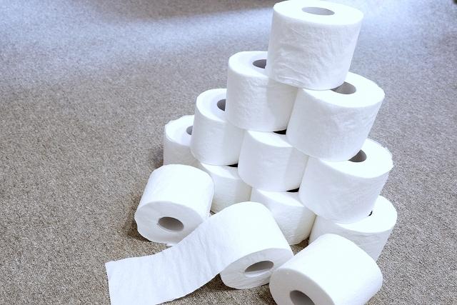 トイレットペーパー買えました!