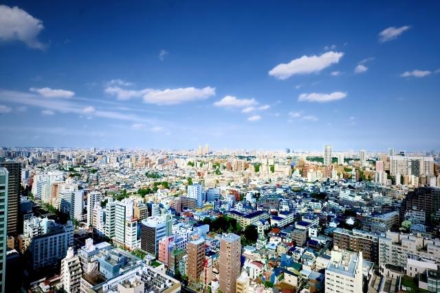 先進国の都会のイメージ